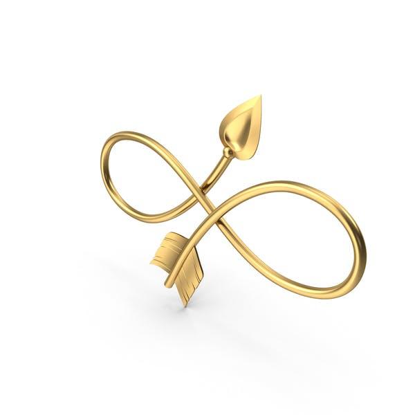 Символ бесконечности стрелок