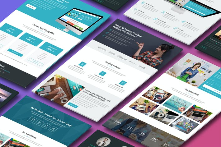 Thumbnail for BeSmart - Premium HTML Template