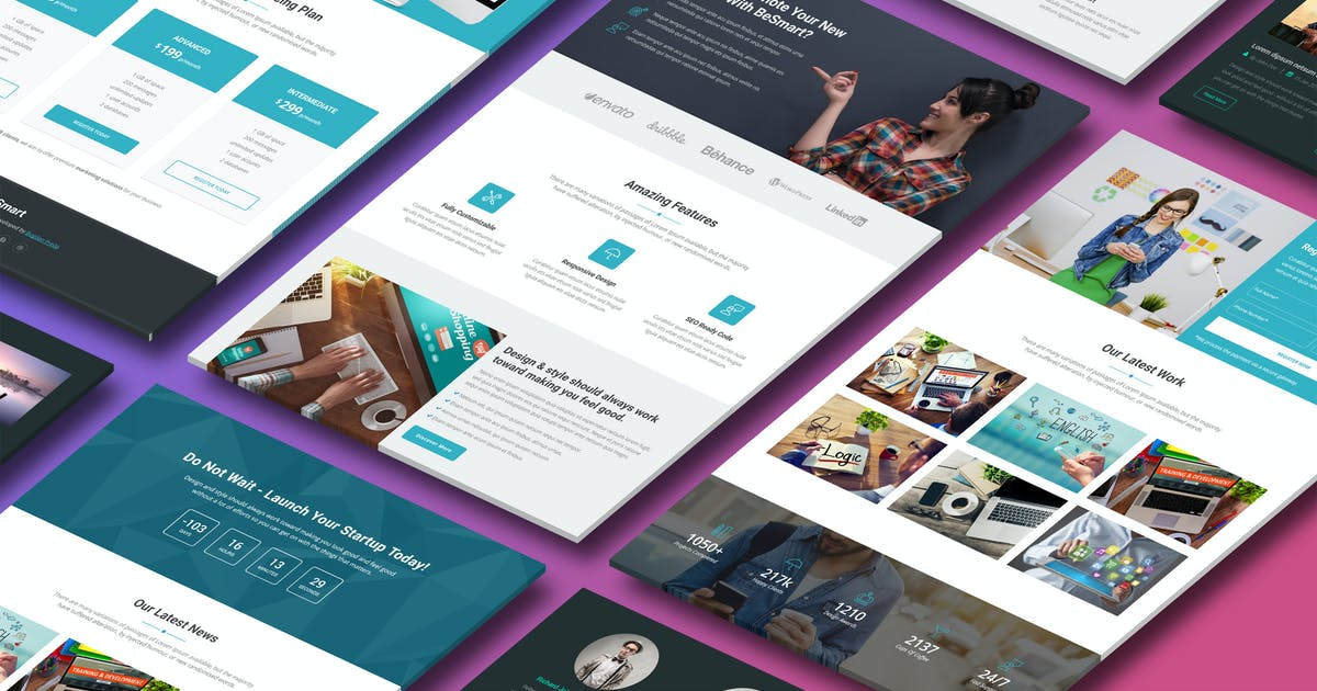 Download BeSmart - Premium HTML Template by Epic-Themes