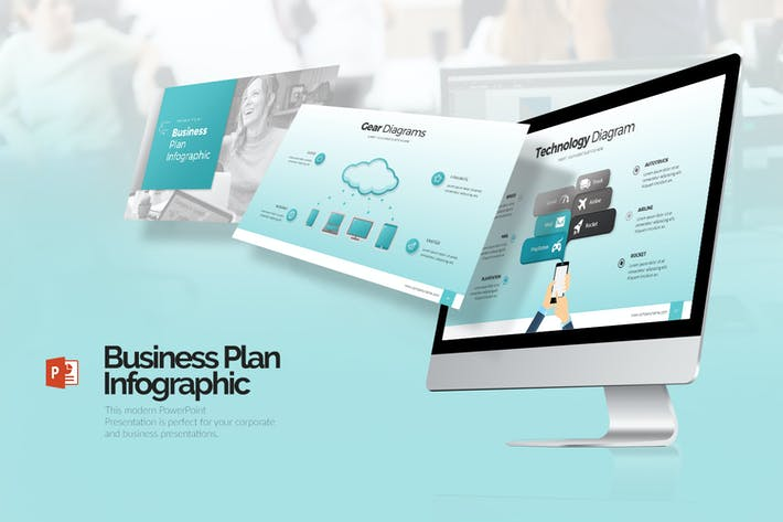 Thumbnail for Business Plan Infographic Presentation (PPTX)