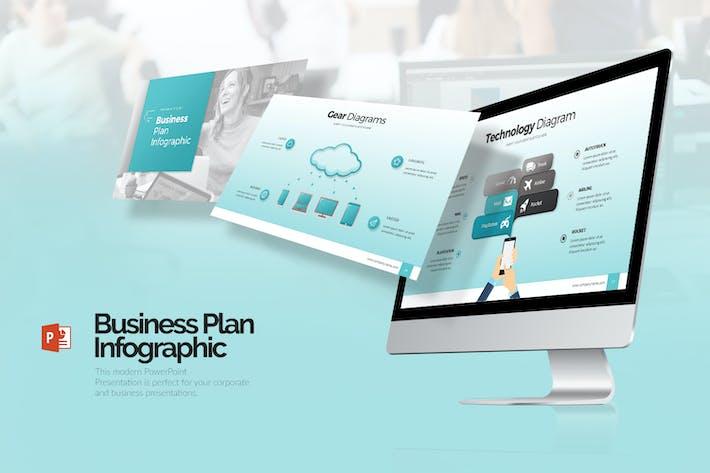 Business Plan Infographic Presentation (PPTX)
