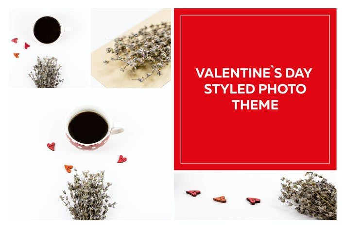 Thumbnail for Valentine`s Day Styled Photo Pack