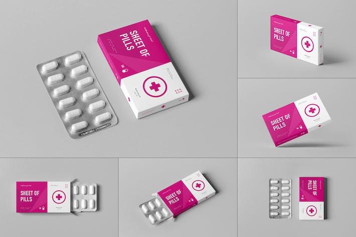 Pills Box Mock-up 3