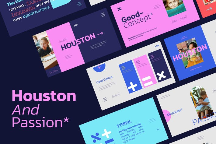 Thumbnail for Houston Powerpoint Template