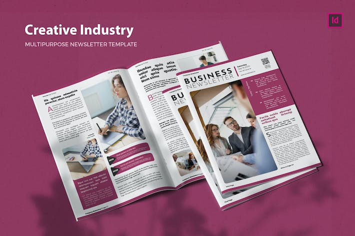 Thumbnail for Creative Industry - Newsletter Template