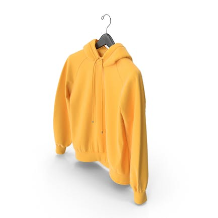 Yellow Hoodie with Hanger
