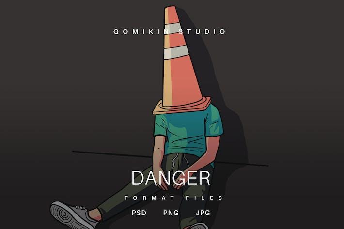 Thumbnail for Danger Illustration
