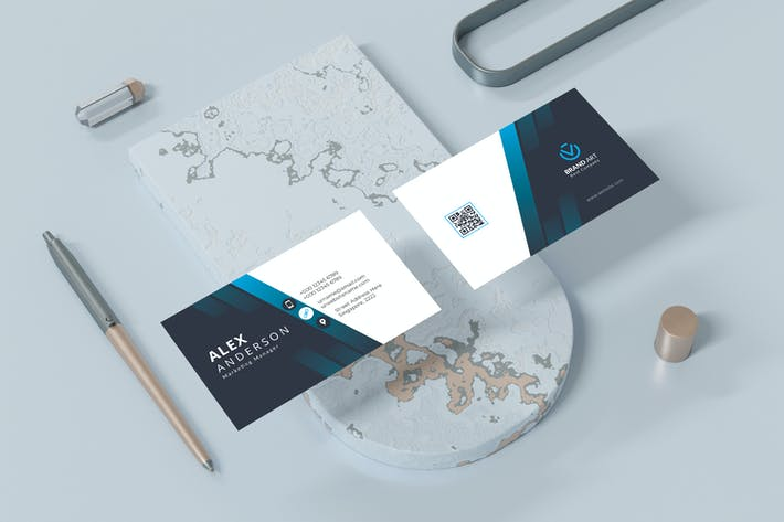 Stylish Modern Business Card Template
