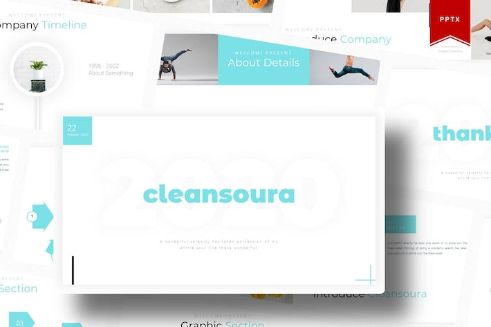 Thumbnail for Cleansoura | Powerpoint Template