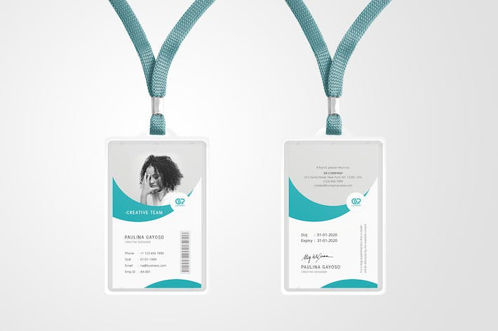 Thumbnail for Creative ID Card Template 10