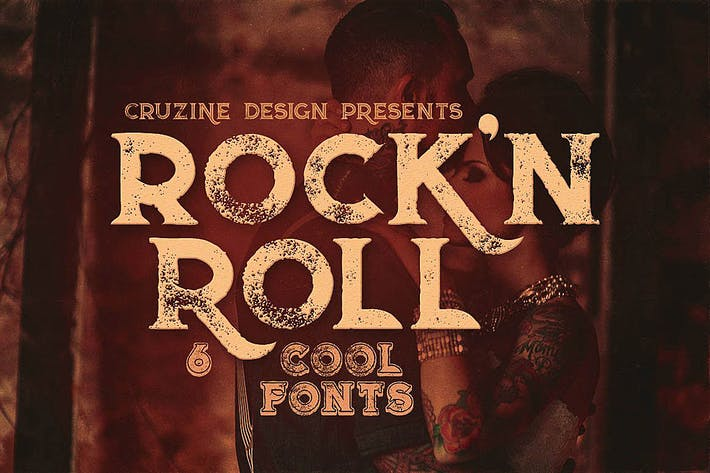 Thumbnail for Rock'n Roll Typeface