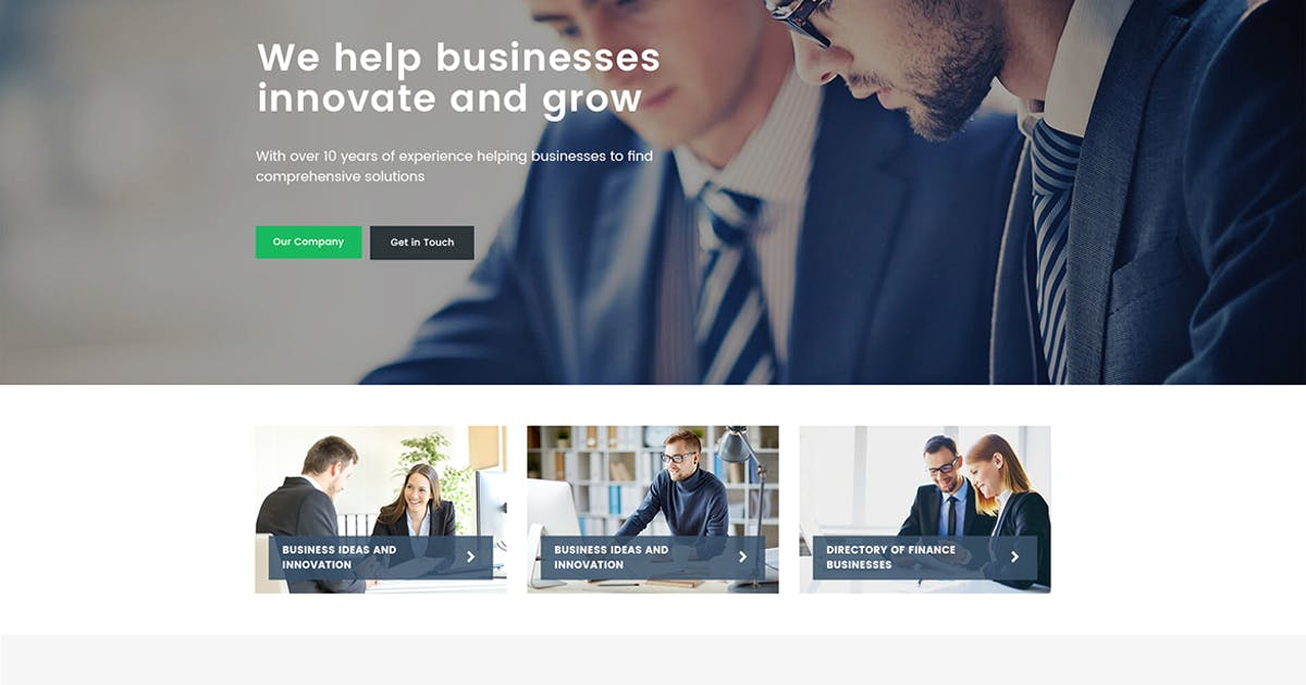 Download Finance - Consulting, Accounting WordPress Theme by themesflat