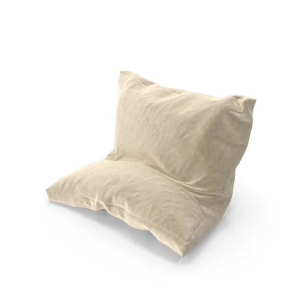 Leaning Pillow Suede