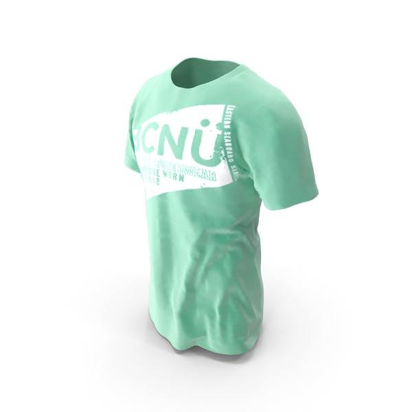 T-Shirt auf Modell