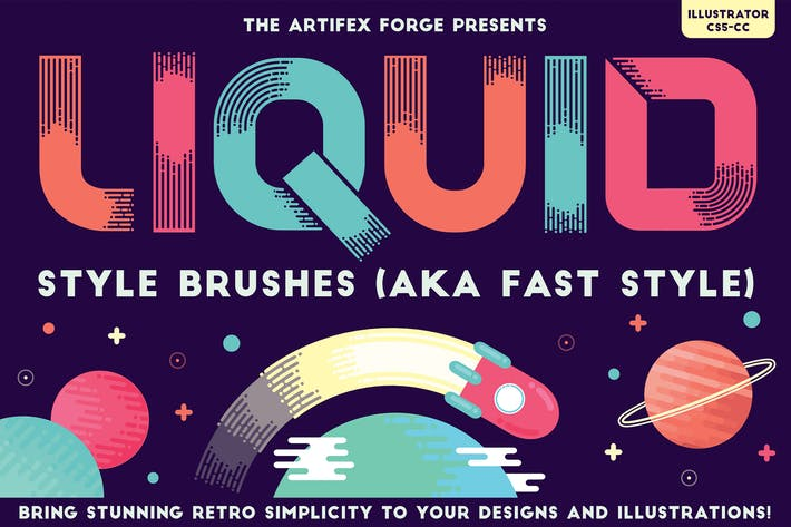 Cover Image For Liquid Style Brushes
