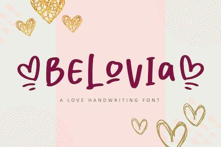 Belovia Beauty Font