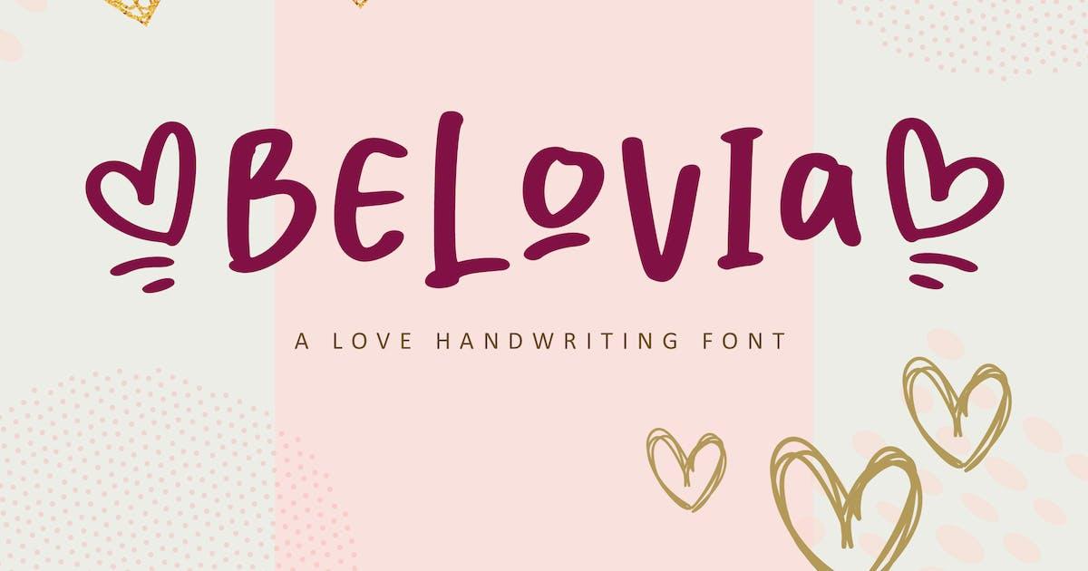 Download Belovia Beauty Font by typecoconut
