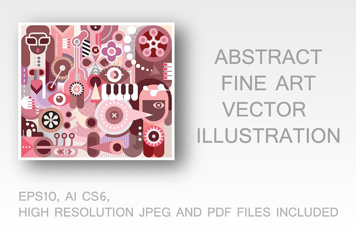 Thumbnail for Abstract Music Design vector illustration
