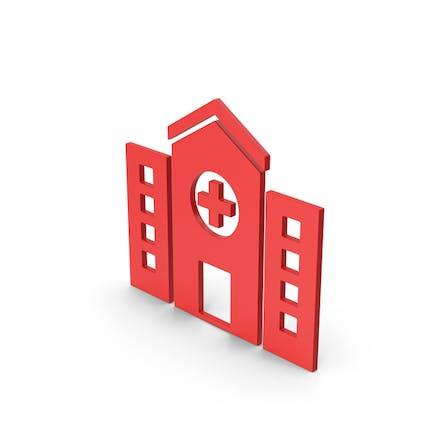 Symbol Hospital Red