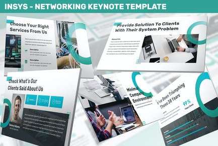 Insys - Networking Keynote Template