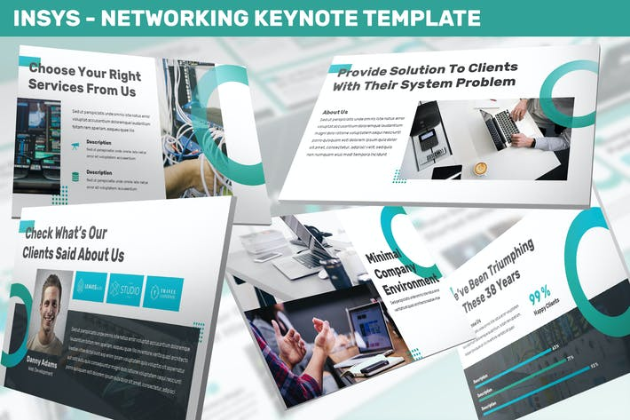 Thumbnail for Insys - Networking Keynote Template
