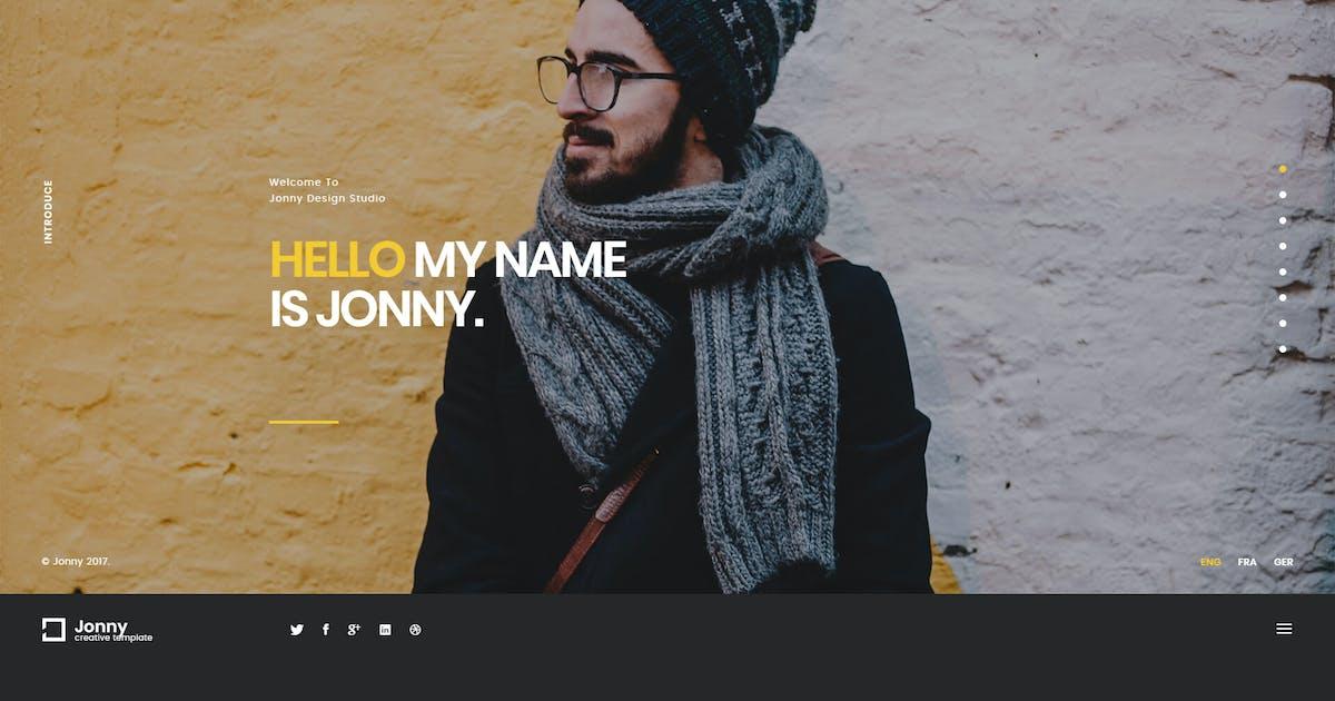 Download Jonny - Creative Onepage HTML Template by murren20
