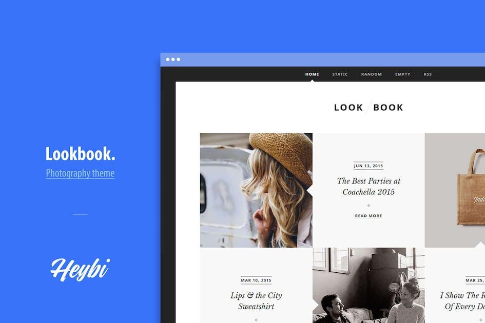 Download Lookbook: Portfolio Theme for Fashion Blogger by Heybi