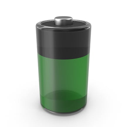 Glass Battery Icon