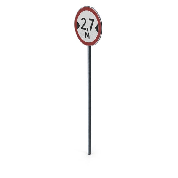 Traffic Sign Width Limit With Pole