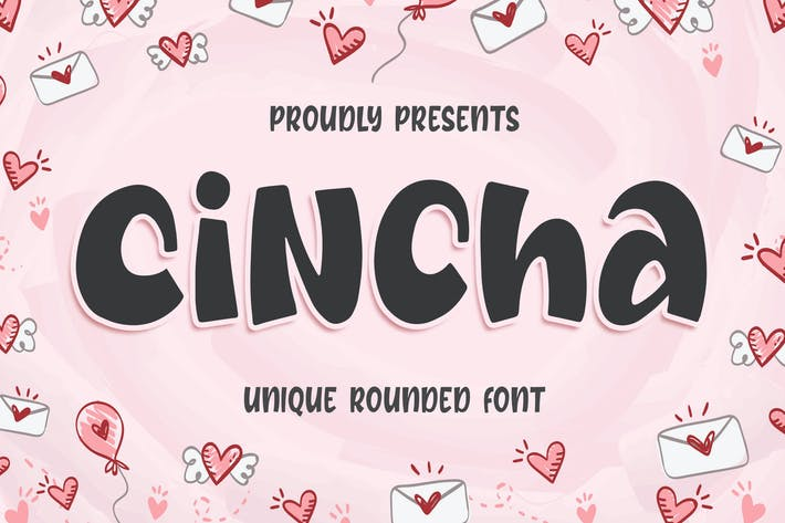 Thumbnail for Cincha - Unique Rounded Font