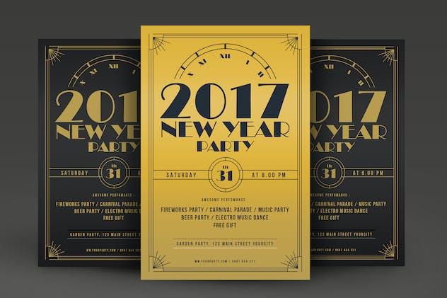 new year menu template v1