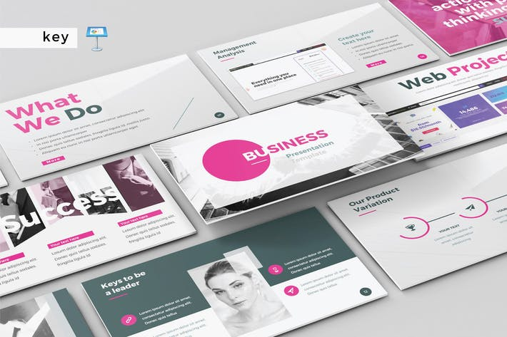 Thumbnail for BUSINESS - Multipurpose Keynote Template V146