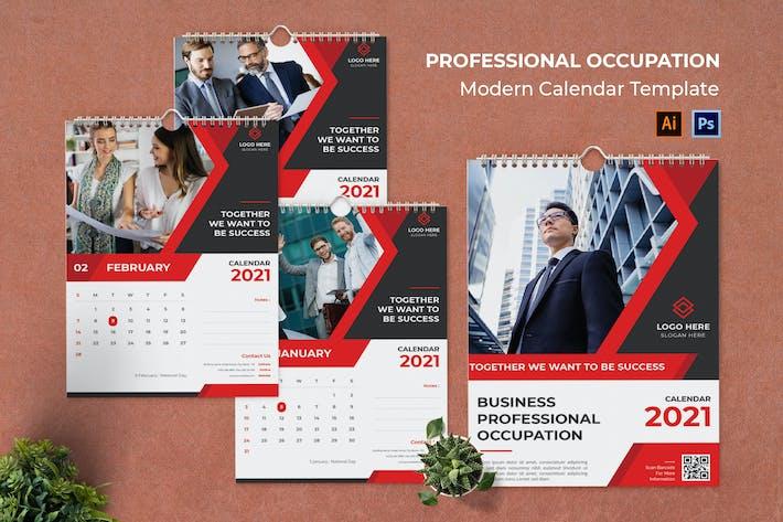 Professional Occupation Calendar Portrait