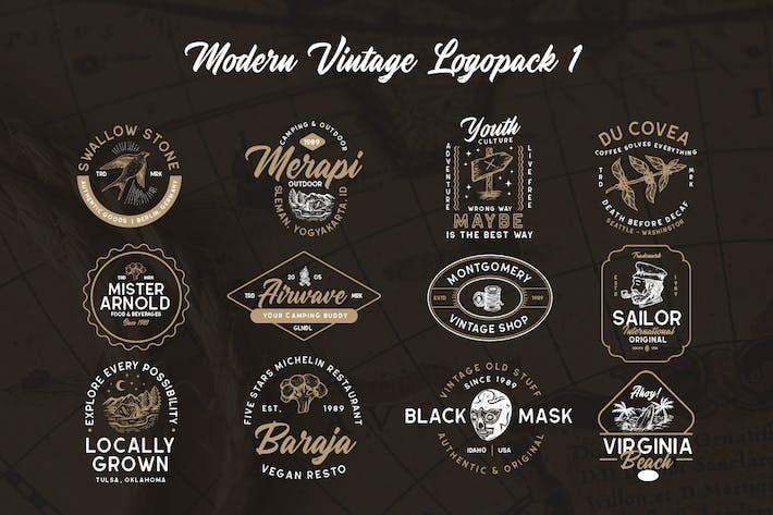 Thumbnail for Modern Vintage Logopack 01