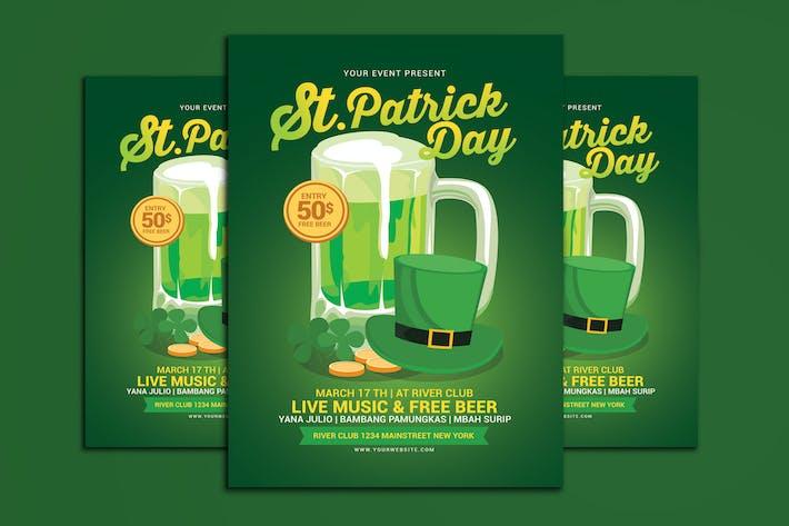 Thumbnail for Saint Patricks Day Flyer