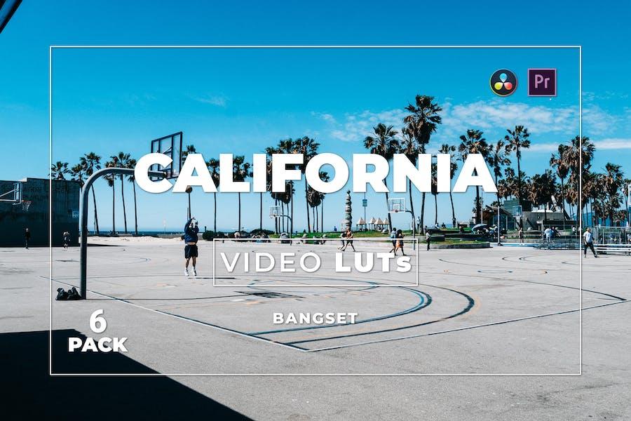 Бангсет Калифорния Pack 6 Видео LUTs