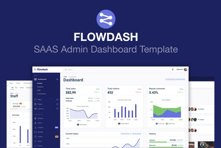 Admin Dashboard Template