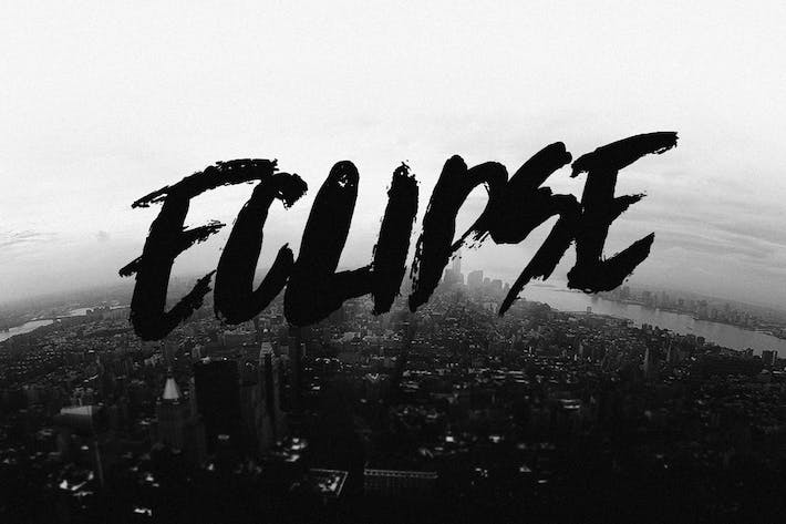 Thumbnail for Eclipse Font