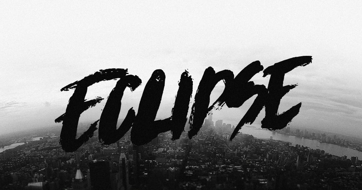 Download Eclipse Font by TheBrandedQuotes