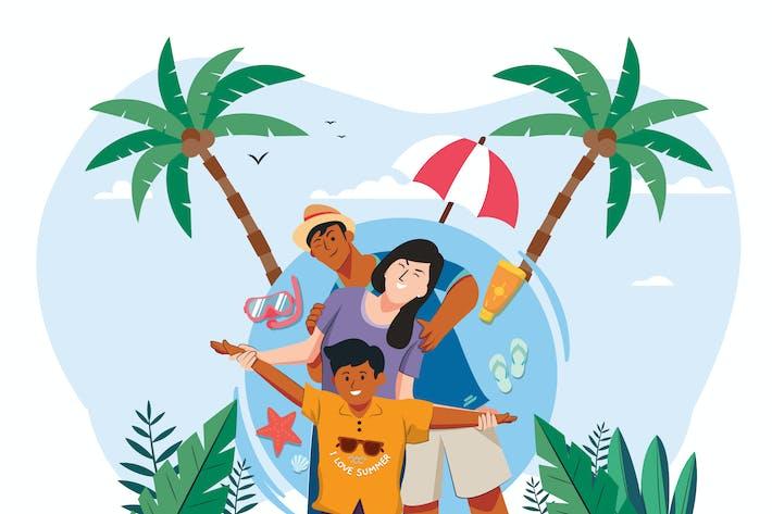 Thumbnail for Summer Holiday - Vector Illustration