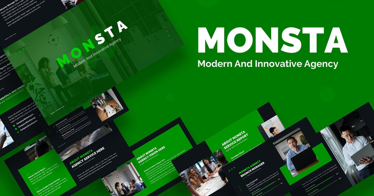 Download Monsta Creative Start Up - Keynote by Rometheme