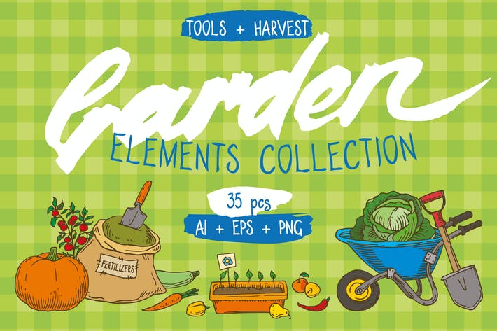 Thumbnail for Garden Elements Collection