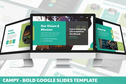 Campy - Bold Google Slides Template