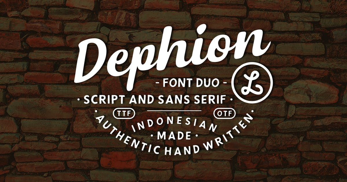 Download Dephion by Locomotype