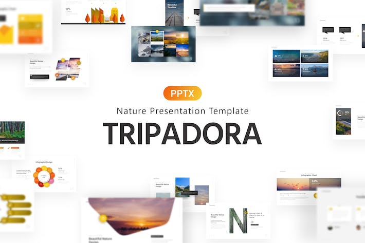 Thumbnail for Tripadora Nature Powerpoint Template