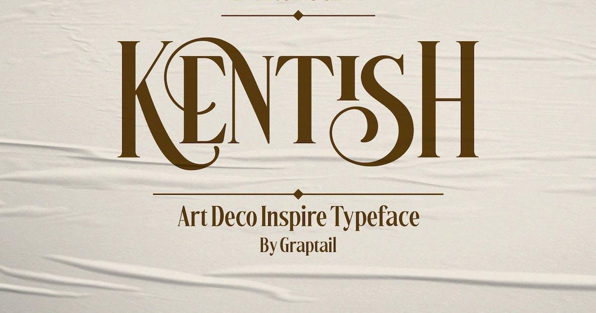 Download Kentish Font by graptailstudio