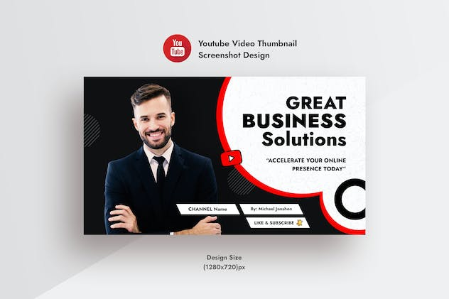 Corporate & Business Solution YouTube Video Thumb