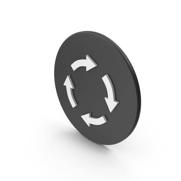 Thumbnail for Circular Arrow Icon