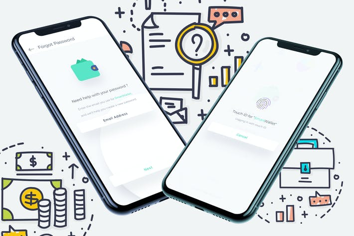 Thumbnail for Smart Wallet Частный мобильный Ui