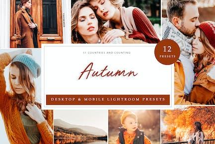 Lightroom Presets - Autumn